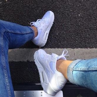 shoes air max nike nike air white shoes
