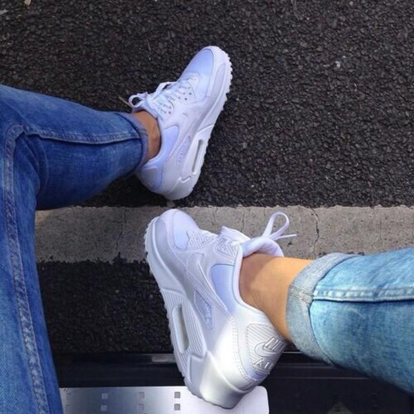 Nike Air Max 2015 White On Feet