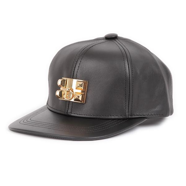 Collier de Chien Leather Cap – Glamzelle