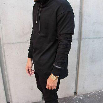sweater maniere de voir distressed jumper jumper fashion trendy style menswear kanye west streetstyle casual
