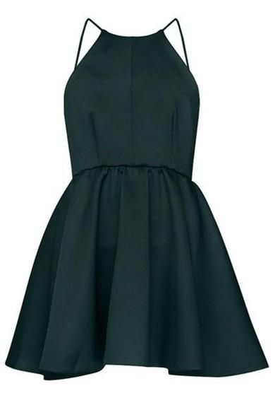 little black dress homecoming dress little black dress short dress spaghetti straps 2014 fashion trends evening/homecoming dresses