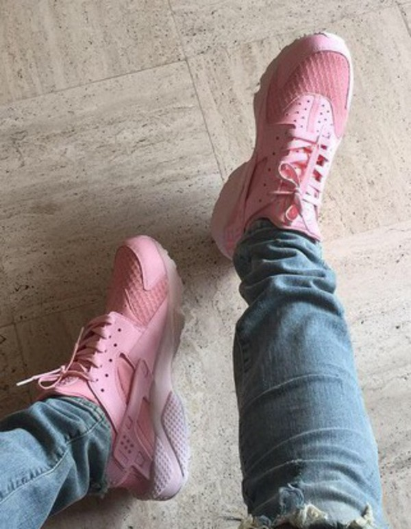 Nike Huarache Flamant Rose