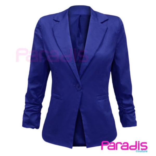 coat blue blazer