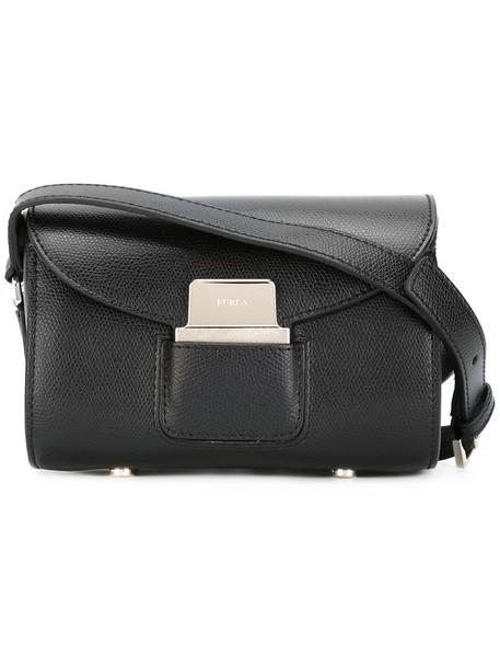 Furla women bag crossbody bag leather black