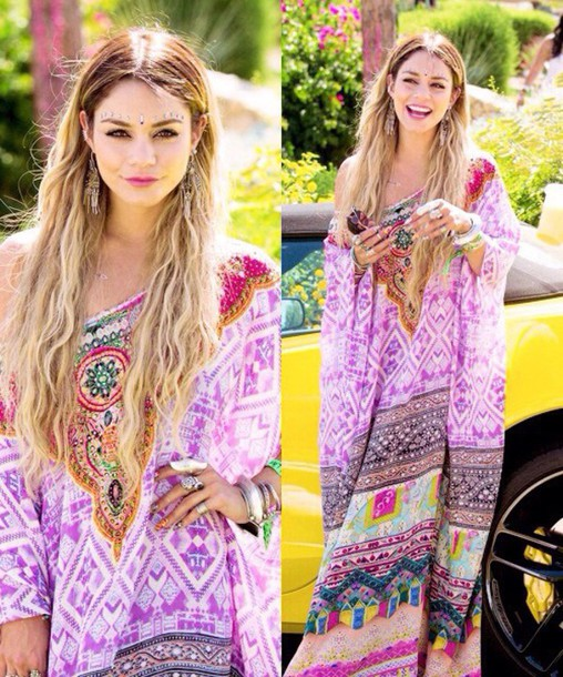 dress vanessahudgens coachella dress summer wheretoget