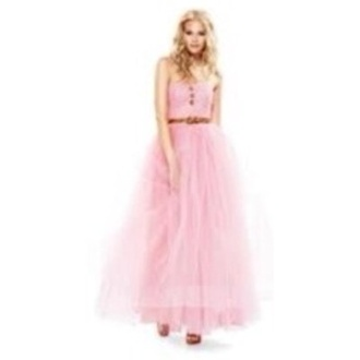dress prom dress bridget mendler pink dress pink poofy dress long prom dress tool formal dress jeans