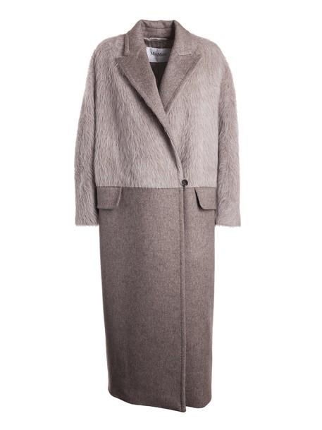 Max Mara coat long beige