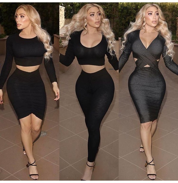 568587f912a dress clubwear celebrity style celebrity outfit outfit idea cute outfits  party outfits long sleeves long sleeve