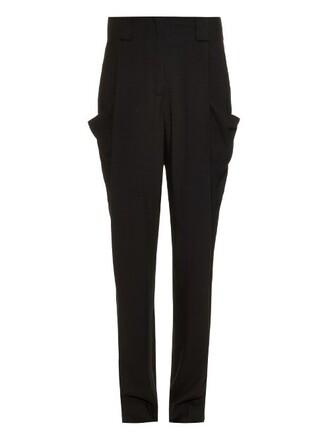 high black pants