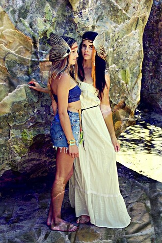 dress indie feathers funk perf highwaisted shorts