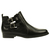 Schwarze cut out boots // stiefeletten  // SACHA