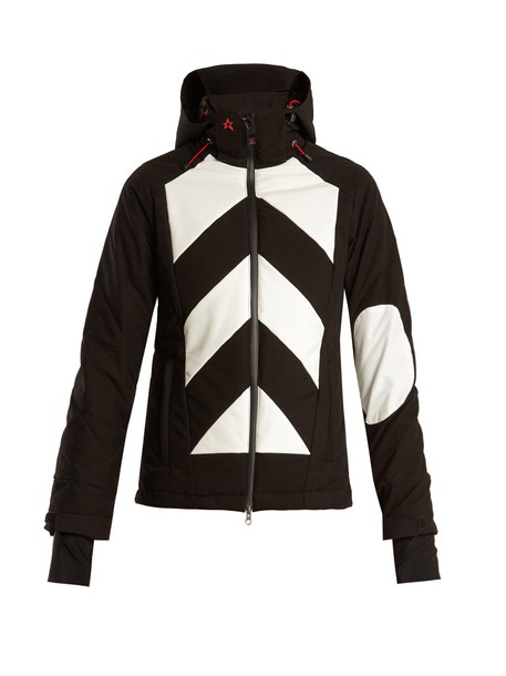 Perfect Moment jacket chevron black
