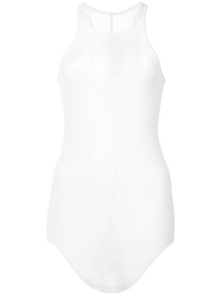 Rick Owens tank top top women white silk