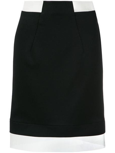 Gloria Coelho skirt women spandex vinyl