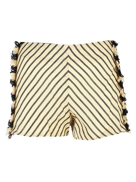 Dodo Bar Or Striped Shorts in beige / beige