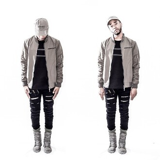 jacket maniere de voir bomber jacket khaki flight jacket
