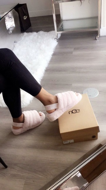 ccfef1f986e6 shoes mules pink light pink baby pink pink mules slippers fall outfits  autumn winter winter