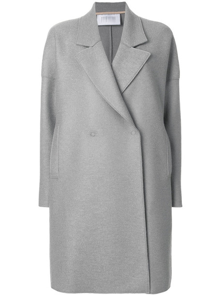 HARRIS WHARF LONDON coat women wool grey