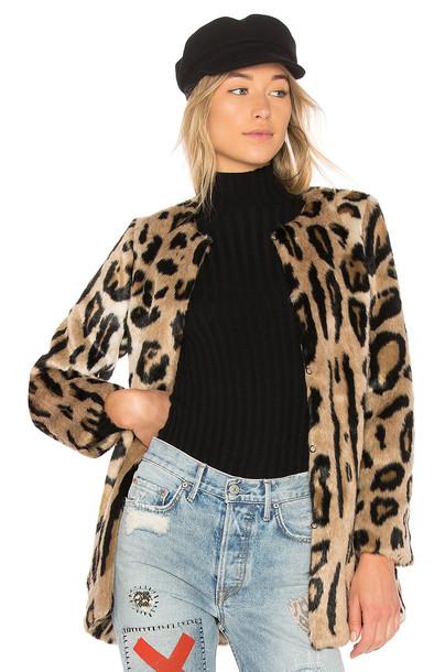 5149 coat faux fur coat fur coat fur faux fur brown