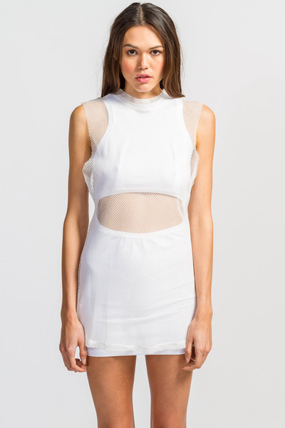 UNIF Mesh Overlay Dress - Koshka - Fashion. Trends. Boutique.