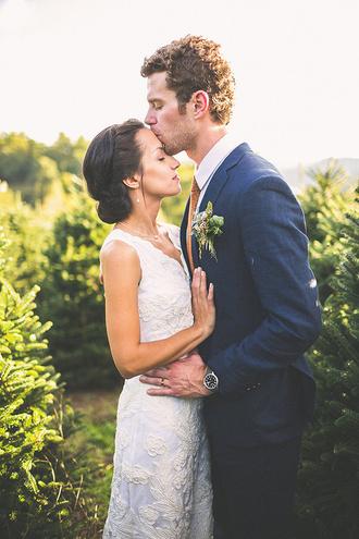ruffled blog blogger dress shoes wedding dress wedding clothes groom wear