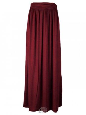 Long Maroon Skirt - Dress Ala