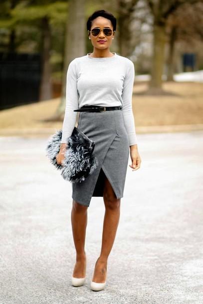 the daileigh t-shirt skirt shoes bag sunglasses belt