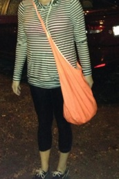 bag,orange,purse,overtheshoulder,hobo,orange bag,oversizedbag,big,bigpurse,peach