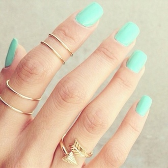 jewels gold gold ring gold midi rings knuckle ring