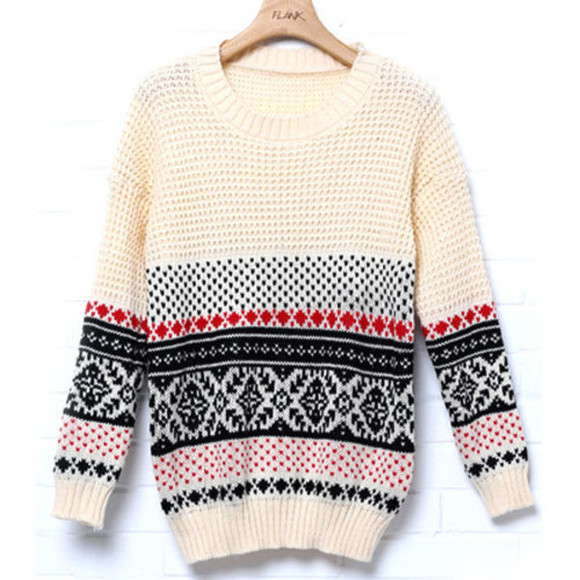 folk sweater leisure