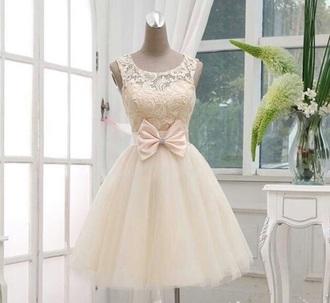 dress cute girly cute dress girly dress lace dress bow dress puffy dress knee length dress