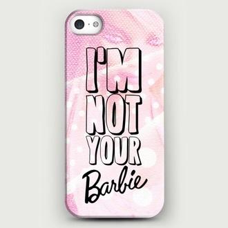 barbie fashion pink dress pink iphone case vintage girly jewels