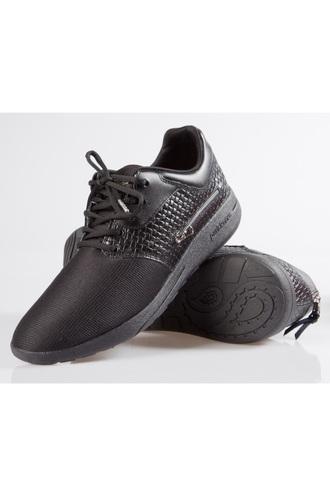 shoes black zipper