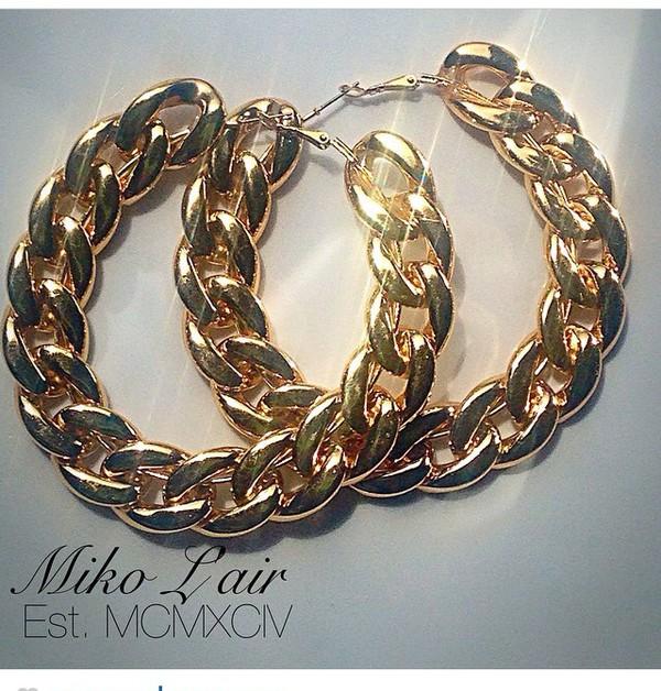 jewels earrings gold