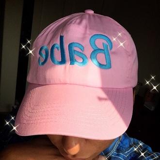 hat pink babe