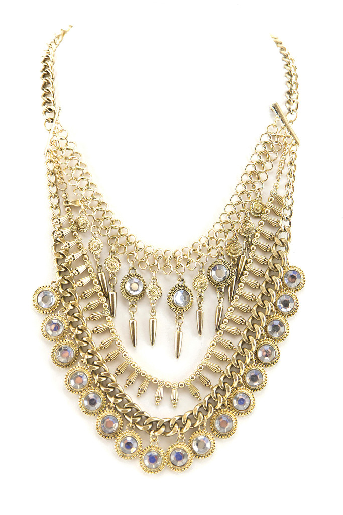 GYPSY COMBO NECKLACE - GOLD | Haute & Rebellious