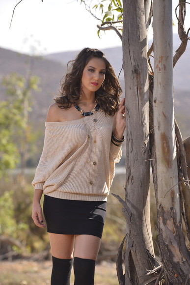 fashion fall outfits fall sweater off the shoulder sweater mini skirt