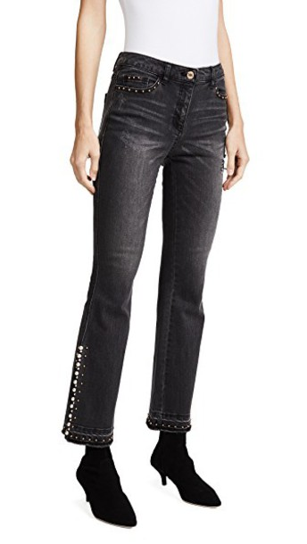 Sjyp jeans flare jeans flare black