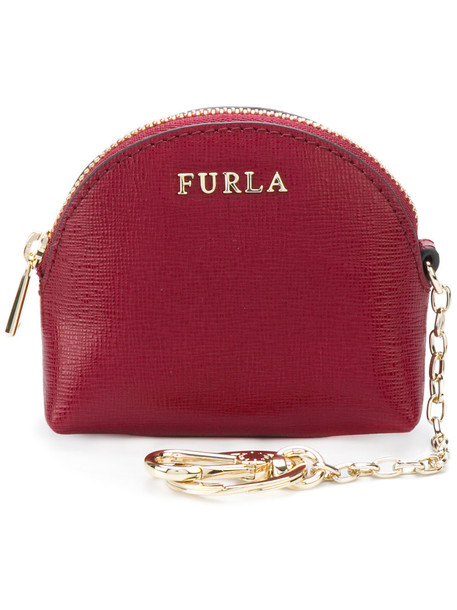 women purse leather red bag