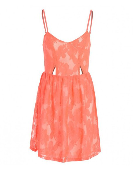 coral coral dress lace dress cami cami dress