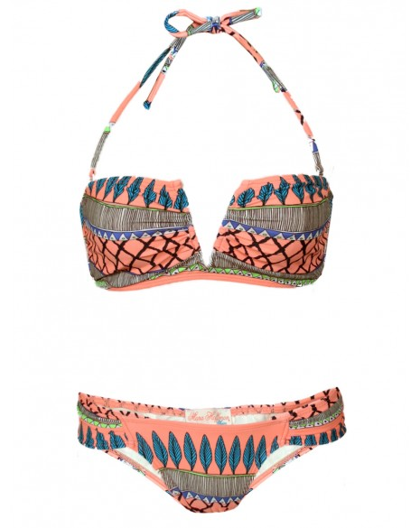 Frida Neon V-Wire Bikini - Swim & Beachwear - Shop