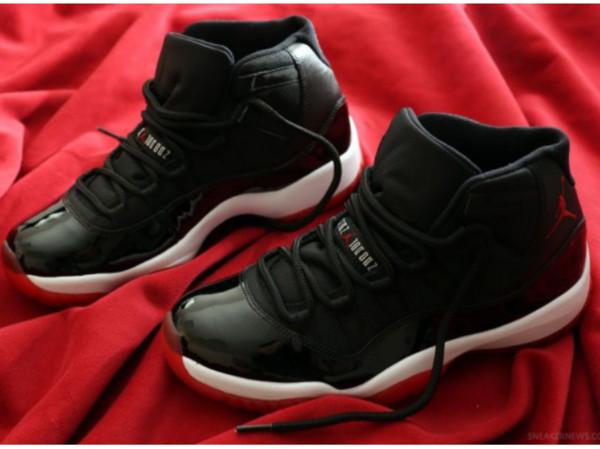 shoes black bred11 jordans girl
