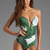 BEACH RIOT // STONE_COLD_FOX Gally Cook One Piece in Palm Print   REVOLVE