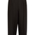 Cropped wool and silk-blend trousers