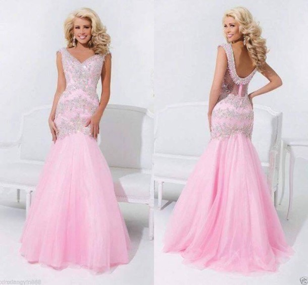 dress prom dress mermaid prom dress