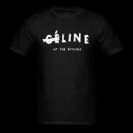 Line Up The Bitches Men's T-Shirt   Bro_Oklyn Inc Co.