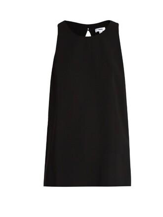 top sleeveless black