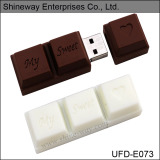 Sweet Chocolate Shape USB Flash Drive (E073) - China Usb Flash Disk, Usb Flash Drive