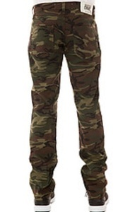 Krush girlz — camouflage boyfriend pants skinny fit