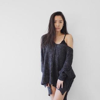 sweater oversized sweater lurex sparkle bohemian bohemian sweater boho sweater